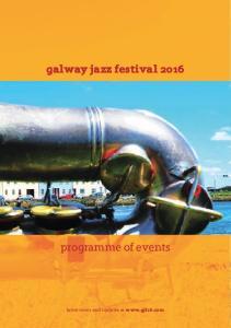 galway jazz festival 2016