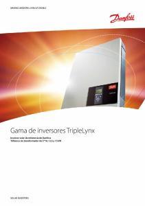 Gama de inversores TripleLynx