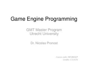 Game Engine Programming
