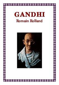 GANDHI. Romain Rolland