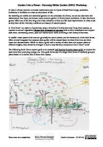 Garden Like a Forest - Duncraig Edible Garden (DEG) Workshop