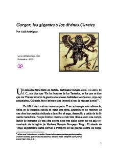 Gargor, los gigantes y los divinos Curetes