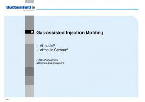 Gas-assisted Injection Molding