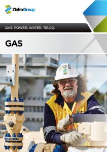 GAS. POWER. WATER. TELCO. GAS