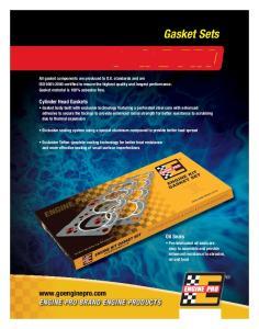 gasket sets  EnginE Pro Brand EnginE Products