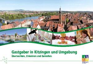 Gastgeber in Kitzingen und Umgebung