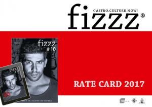 GASTRO.CULTURE.NOW! RATE CARD 2017 AMF