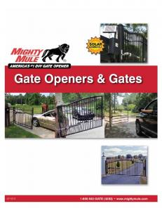Gate Openers & Gates GATE (4283)