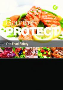 Gauntlet PROTECT. For Food Safety