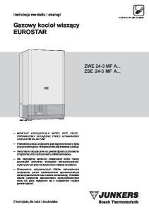 Gazowy kocio³ wisz¹cy EUROSTAR