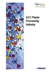 GCC Plastic Processing Industry