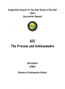GCC The Process and Achievements