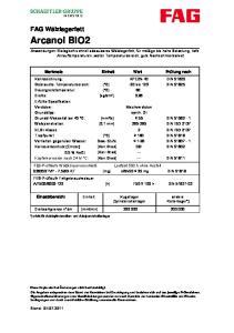 Gebrauchs-Temperaturbereich: [ C] Dauergrenztemperatur: [ C]
