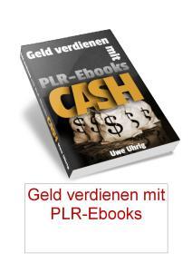 Geld verdienen mit PLR-Ebooks
