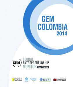 GEM Colombia ISBN (impreso) ISBN (PDF)
