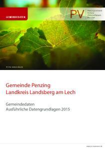 Gemeinde Penzing Landkreis Landsberg am Lech