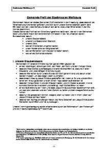 Gemeinde-Profil der Stadtmission Wolfsburg
