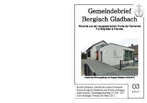 Gemeindebrief Bergisch Gladbach