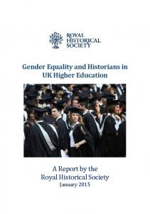 Gender Equality and Historians in UK Higher Education