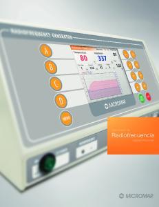 Generador de Radiofrecuencia Digital Micromar