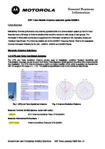 General Business Information