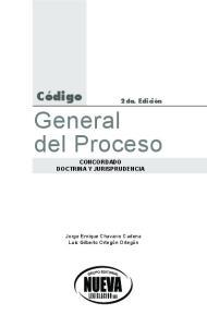 General del Proceso CONCORDADO DOCTRINA Y JURISPRUDENCIA