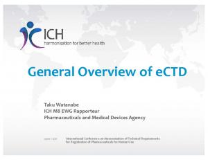 General Overview of ectd