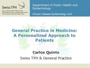 General Practice in Medicine: A Personalized Approach to Patients