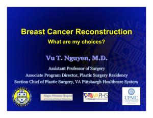 General Surgery & Plastic Surgery Residency University of Pittsburgh
