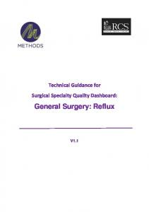 General Surgery: Reflux