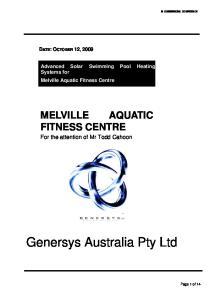 Genersys Australia Pty Ltd