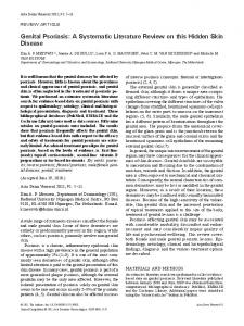 Genital Psoriasis: A Systematic Literature Review on this Hidden Skin Disease