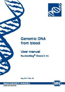 Genomic DNA from blood