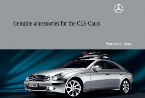 Genuine accessories for the CLS-Class