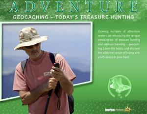 GEOCACHING TODAY S TREASURE HUNTING