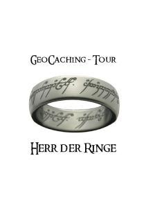 GeoCaching - Tour. Herr der Ringe
