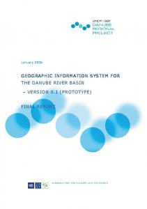 GEOGRAPHIC INFORMATION SYSTEM FOR THE DANUBE RIVER BASIN