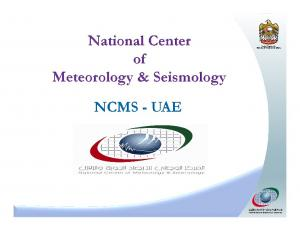 Geographic & Topographic features of the UAE