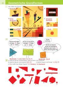 Geometrische Grundformen