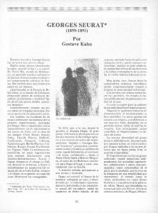 GEORGES SEURAT* ( )