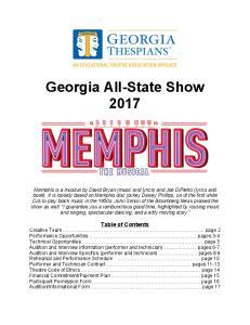 Georgia All-State Show 2017