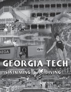 GEORGIA TECH SWIMMING & DIVING