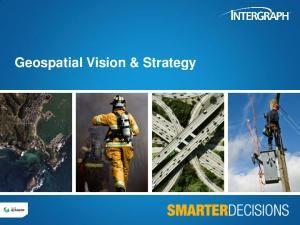 Geospatial Vision & Strategy