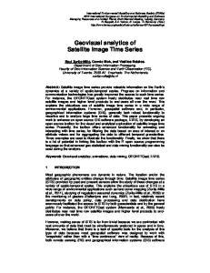 Geovisual analytics of Satellite Image Time Series