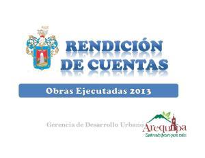 Gerencia de Desarrollo Urbano