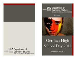 German High School Day 2011