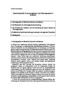 Geschichtspolitik, Erinnerungskultur und Historiographie in Russland