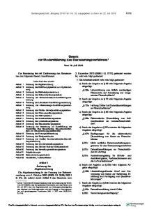 Gesetz zur Modernisierung des Besteuerungsverfahrens 1