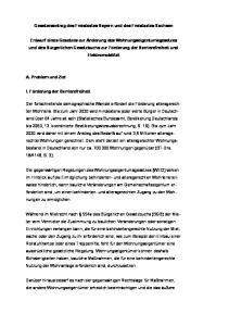 Gesetzesantrag des Freistaates Bayern und des Freistaates Sachsen