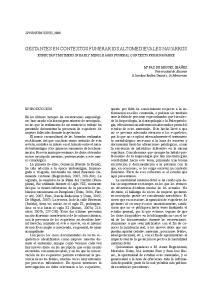 GESTANTES EN CONTEXTOS FUNERARIOS ALTOMEDIEVALES NAVARROS